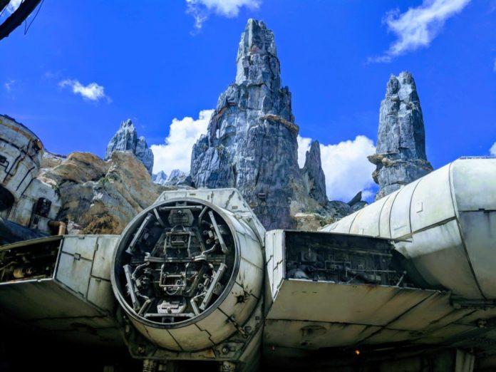 Sneak peek of Star Wars: Galaxy's Edge at Walt Disney World theme park in Orlando, Florida