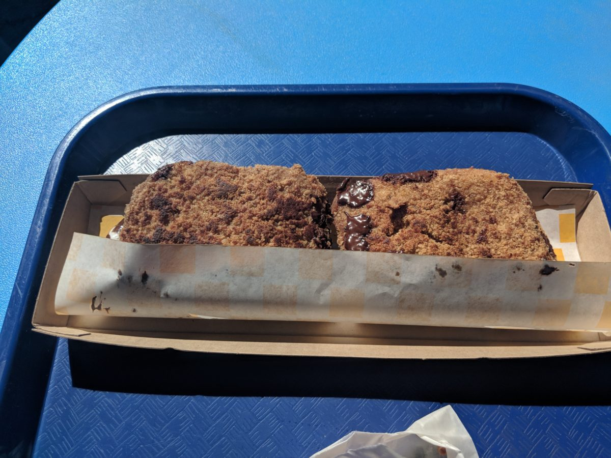 Eat a smore sandwich at Woody's Lunch Box at Toy Story Land at Walt Disney World Resort in Orlando Florida
