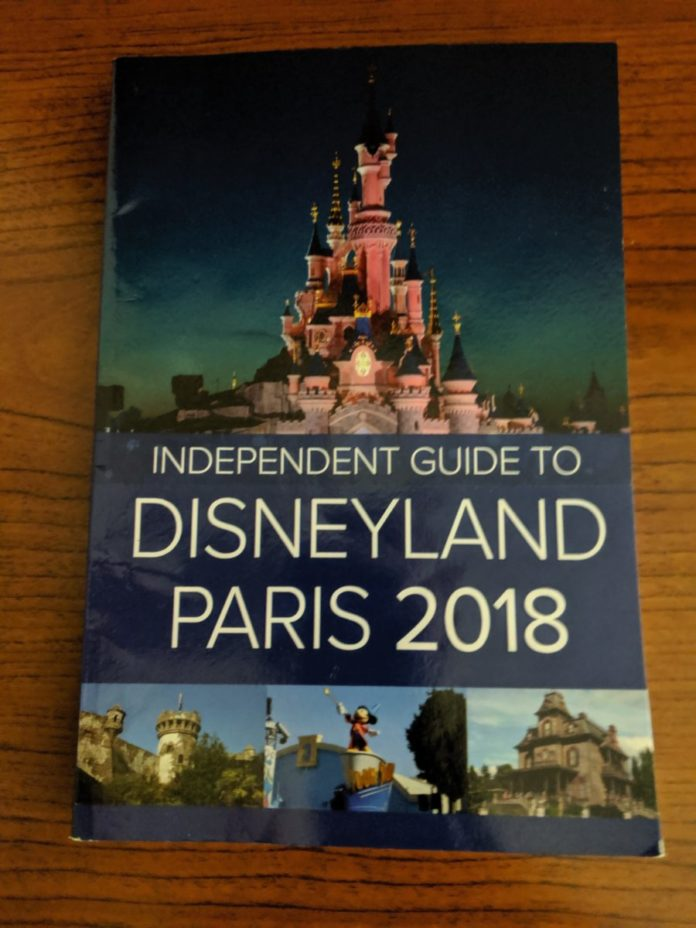 Best Disneyland Paris books. Great gift for a Disney parks fan