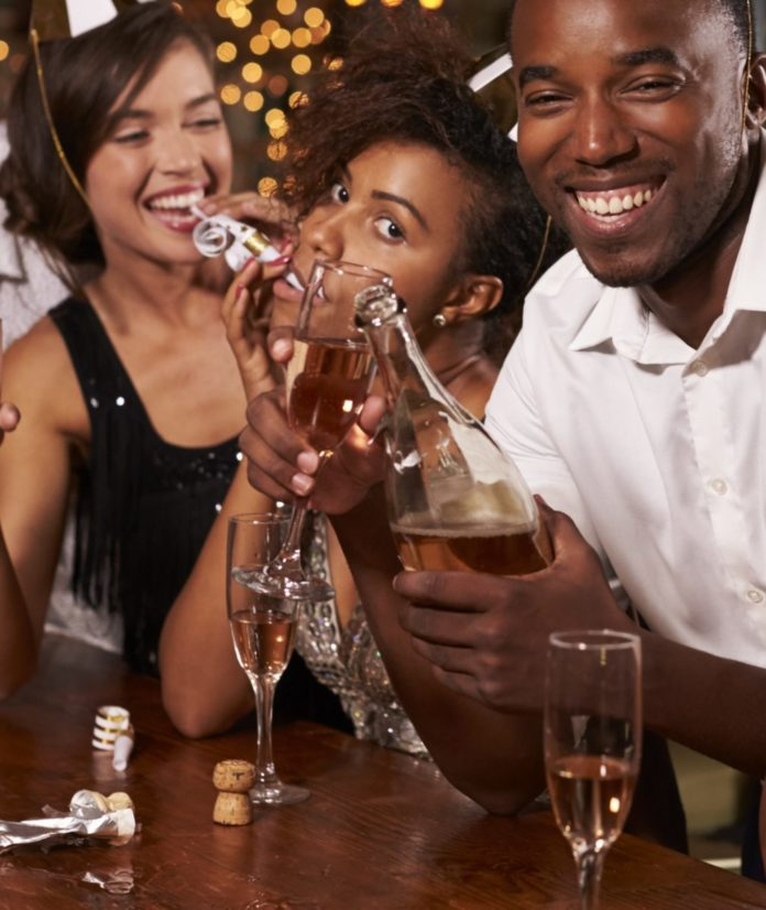 The best way to enjoy the New Year's Celebration At Smoked In Caesar's Shops In Las Vegas