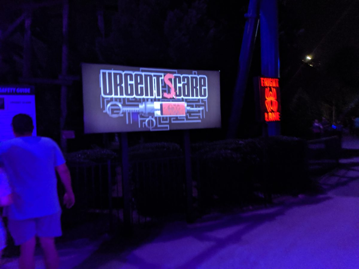 Urgent Scare is one of the terrifying scares at SCarowinds Halloween event in Charlotte, NC