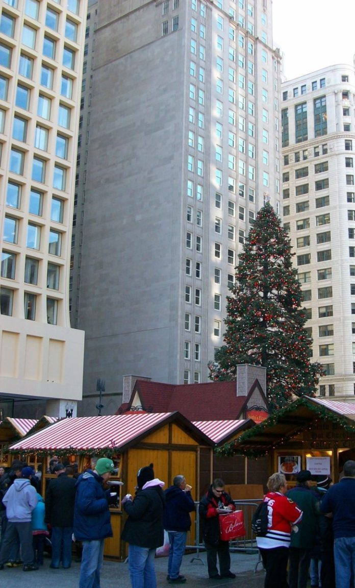 Experience the Christmas season in Chicago with the Chicago Holiday Lights Segway Tour