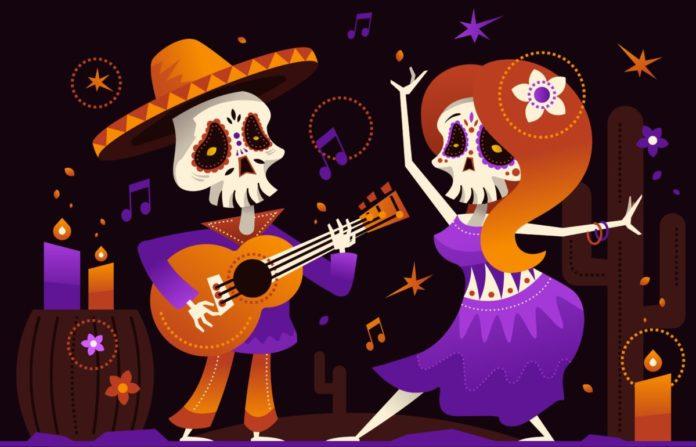 Promo code for a Dia de los Muertos Festival in Chandler, Arizona
