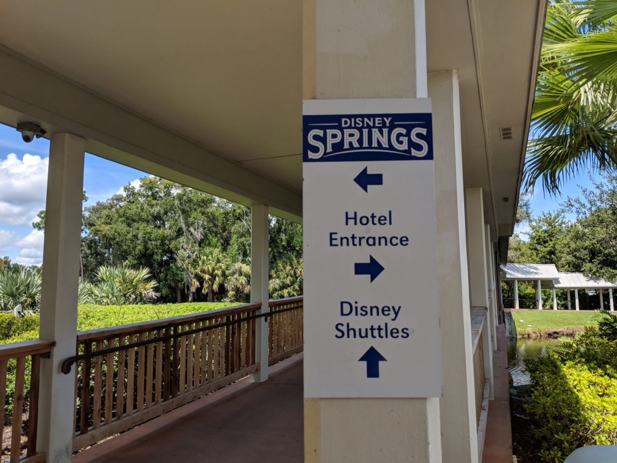 Hilton Orlando Buena Vista Palace is within walking distance of DIsney Springs