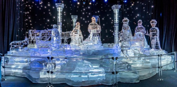 Coupons for ICE! at Gaylord Palms featuring THE POLAR EXPRESS