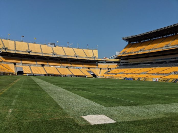 A picture of Heinz Field, home of the Pittsburgh Steelers. Find out how to watch a game there or other NFL stadiums for free