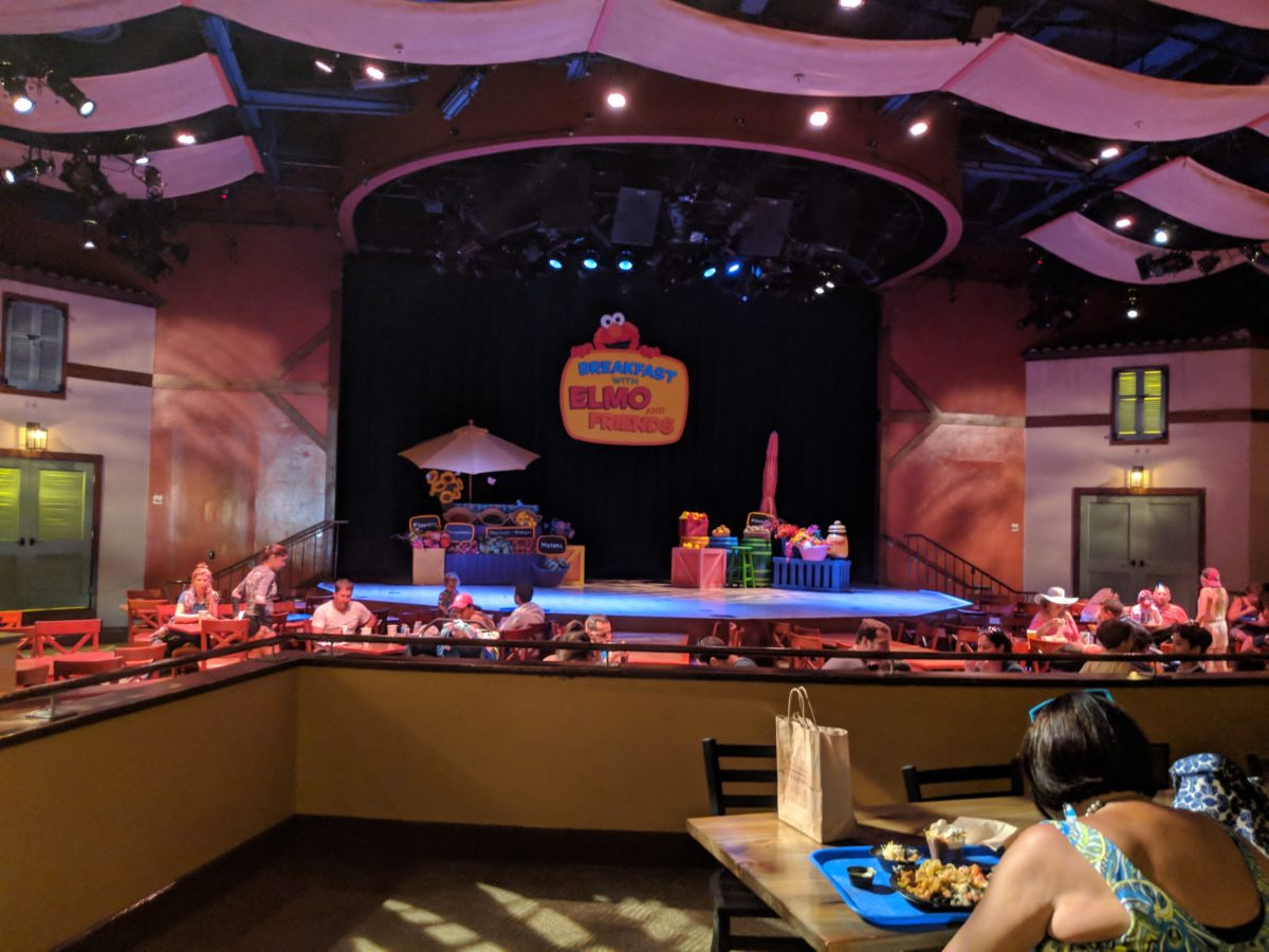 Enjoy a breakfast with Elmo & Friends at SeaWorld theme park in Orlando, Florida