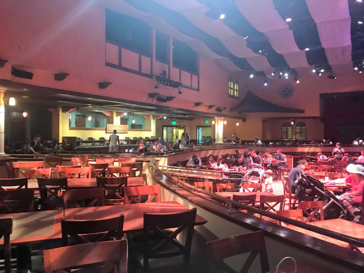 Seafire Grill at SeaWorld Orlando theme park has indoor seating