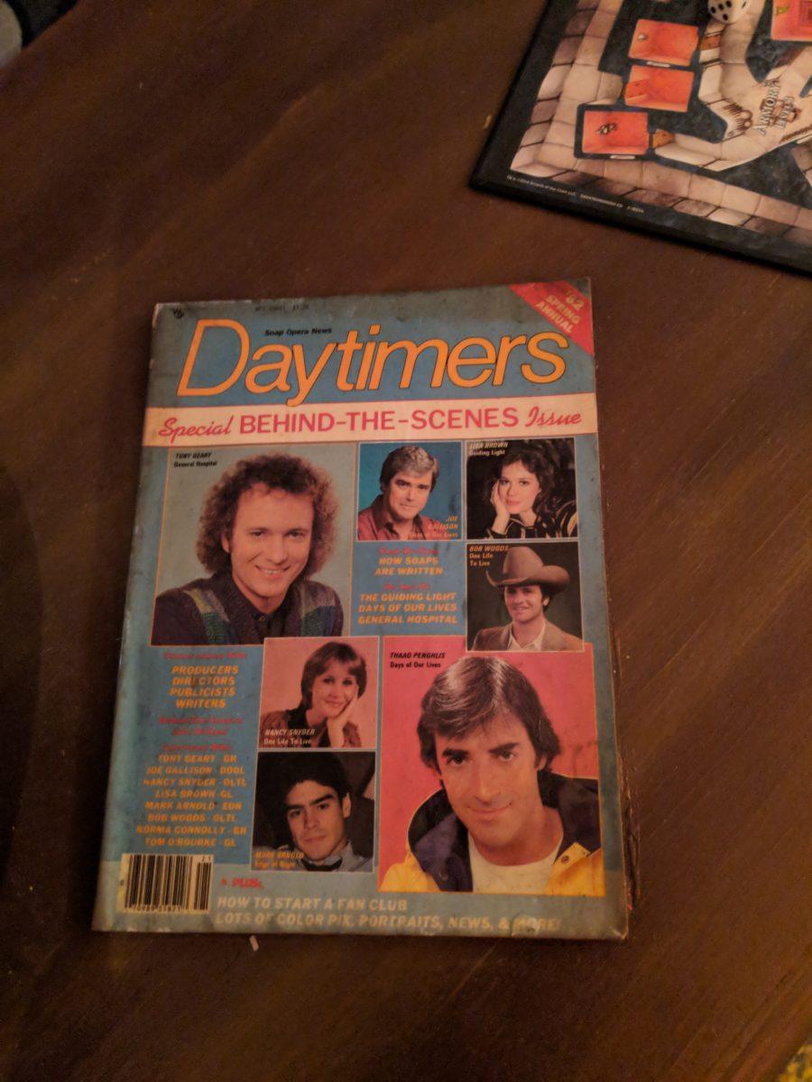 Daytimers Soap Opera Magazine Stranger Things Pop Up Cabana Bay