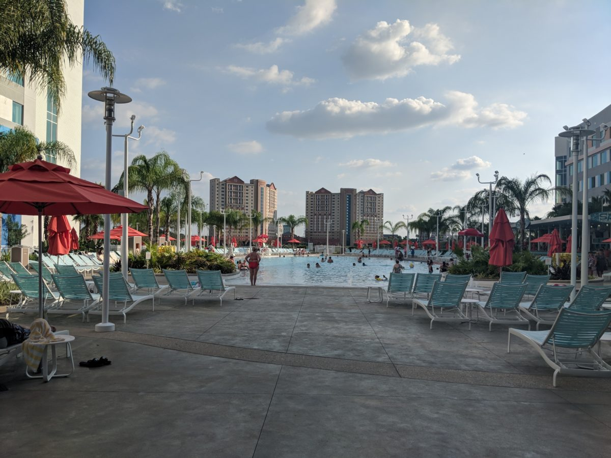 Surfside Inn & Suites, a Universal Orlando family hotel, has a great pool
