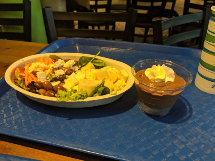 Waterway Grill in SeaWorld Orlando is part of their all day dining plan