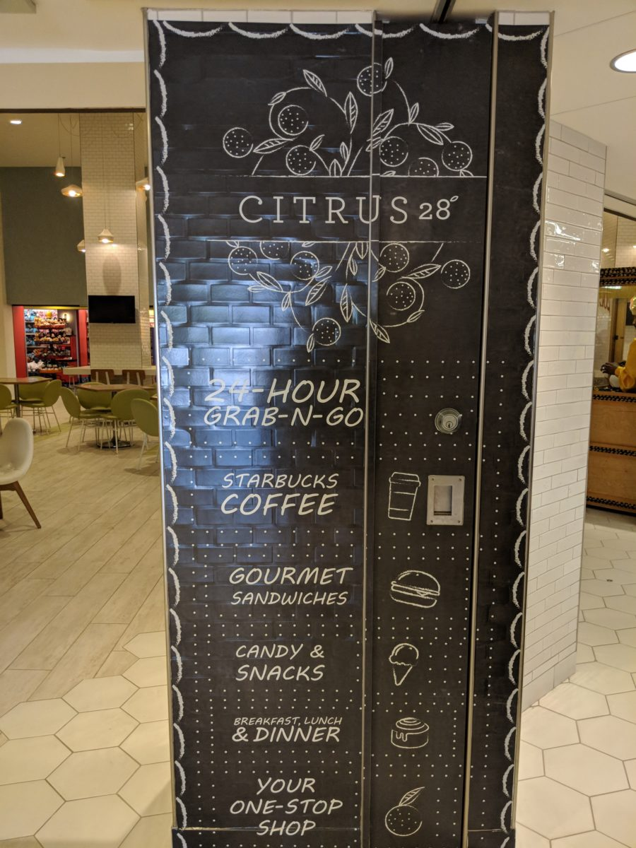 Citrus 28 offers grab and go items at Hilton Buena Vista Palace Disney Springs area