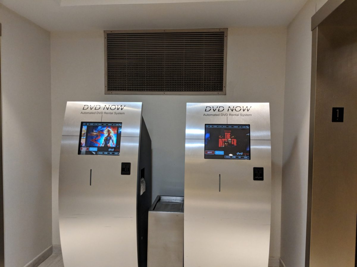 Get free DVD rentals at Hilton Orlando Buena Vista Palace Disney Springs area in Florida