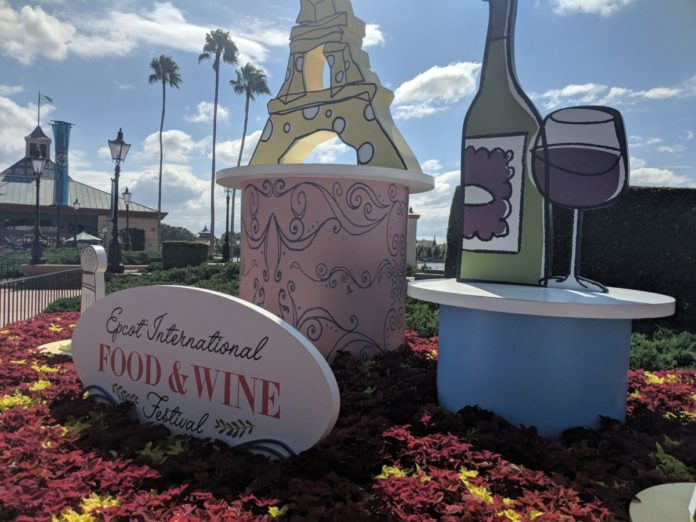 A virtual tour of Epcot's International Food & Wine Festival in Orlando, Florida