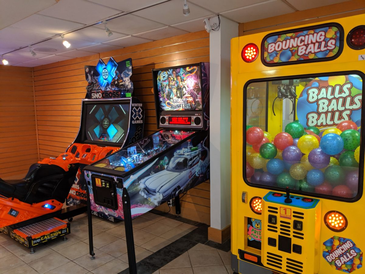 Hilton Orlando Buena Vista Palace offers popular arcade games like Ghostbusters to its guests