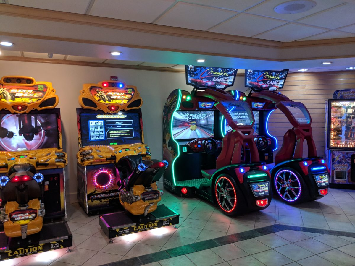 A picture of the arcade at Hilton Orlando Buena Vista Palace Disney Springs