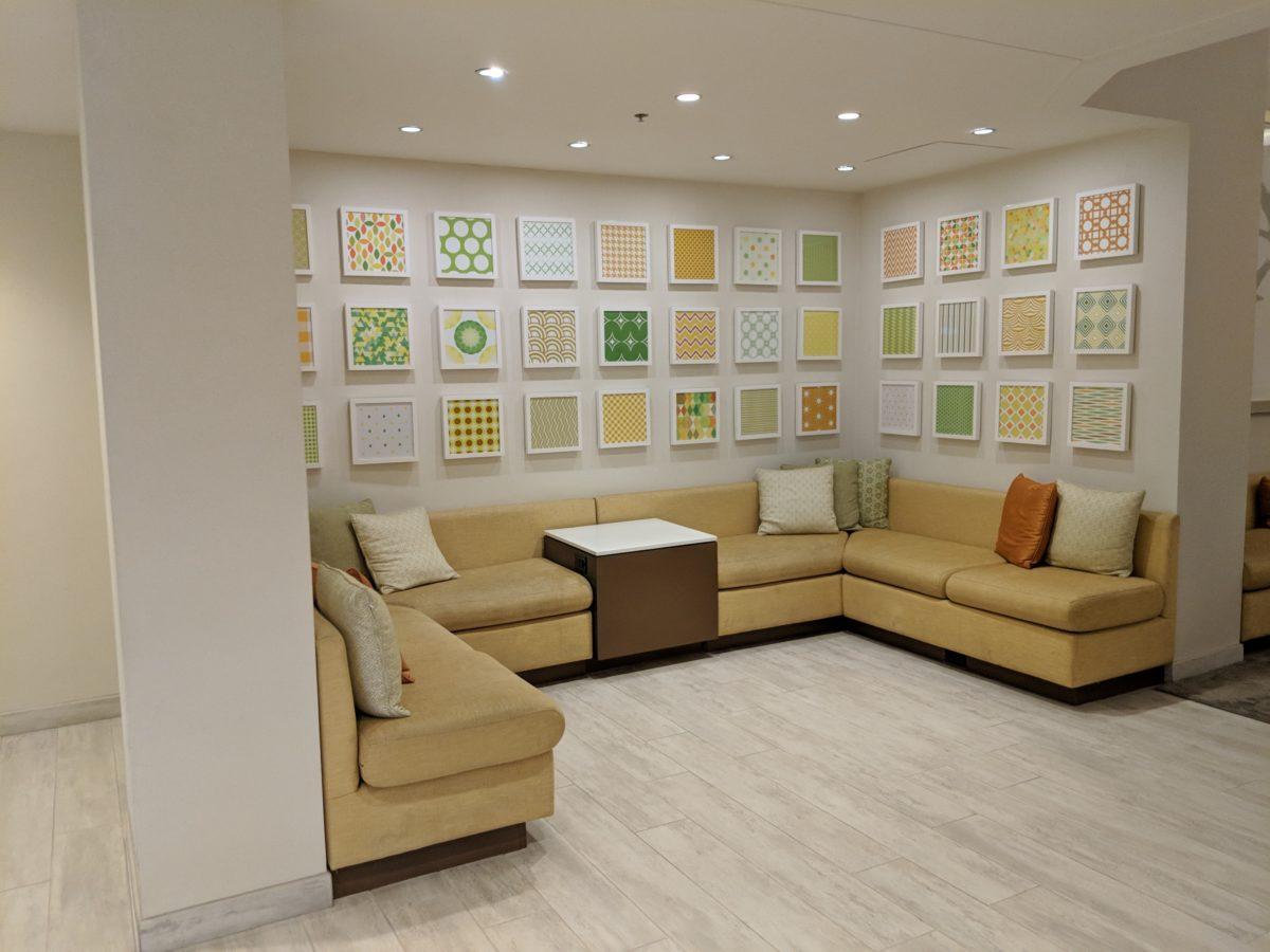 An up close look at the beautiful decor at Hilton Orlando Buena Vista Palace