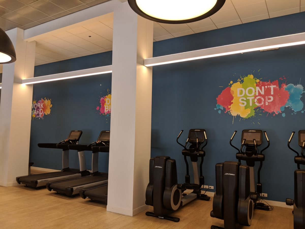 Hilton Orlando Buena Vista Palace DIsney Springs has a onsite fitness center