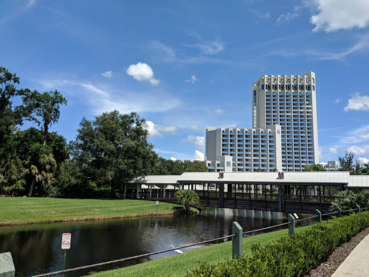 Hilton Orlando Buena Vista Palace is a beautiful hotel in Orlando, Florida