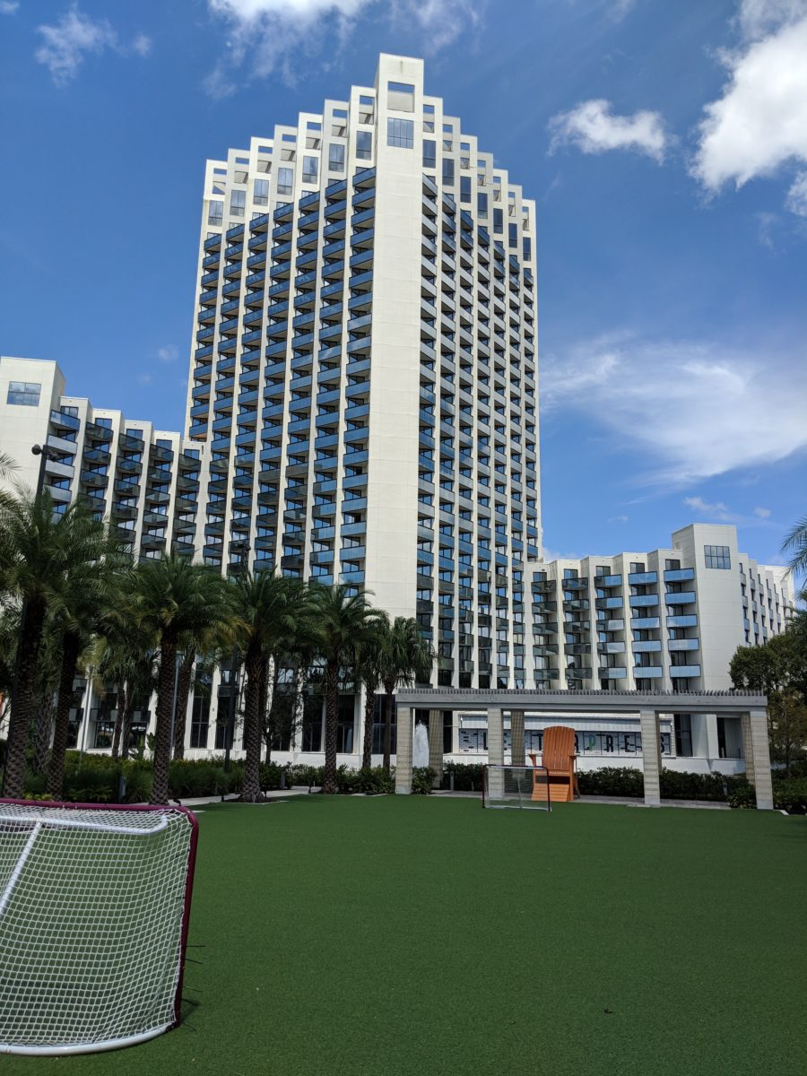 A picture of the outdoor recreational activities offered by Hilton Orlando Buena Vista Palace