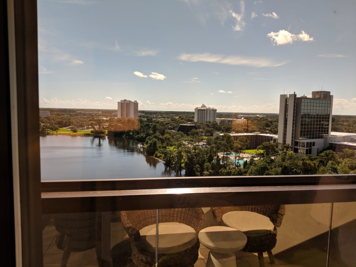 Hilton Orlando Buena Vista Palace has guest rooms with great views from balconies