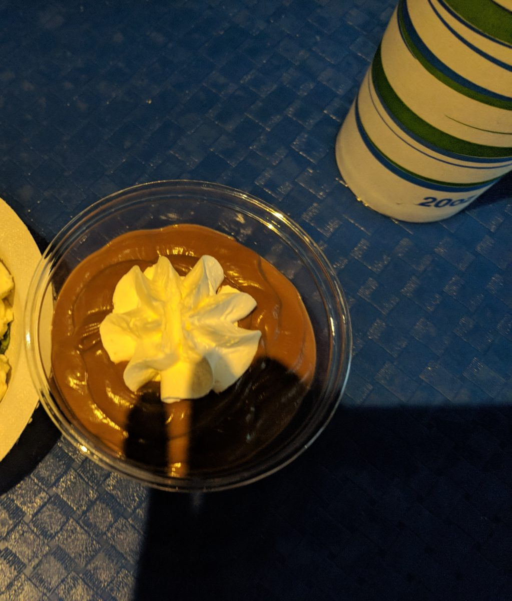 A picture of the chocolate pudding parfait at Waterway Grill at SeaWorld Orlando