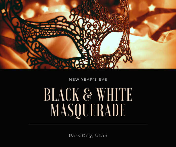 Coupon for Black & White Masquerade in Park City, Utah for New Year's Eve