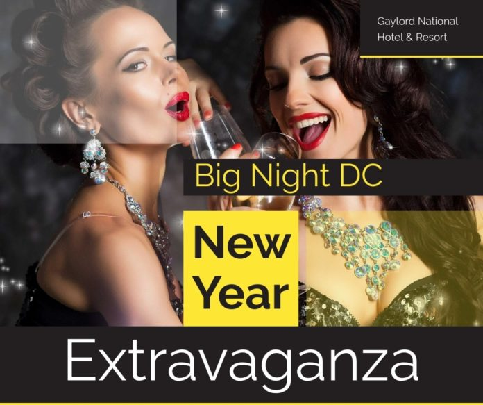 Promotional code for Big Night D.C. New Year's Eve Extravaganza