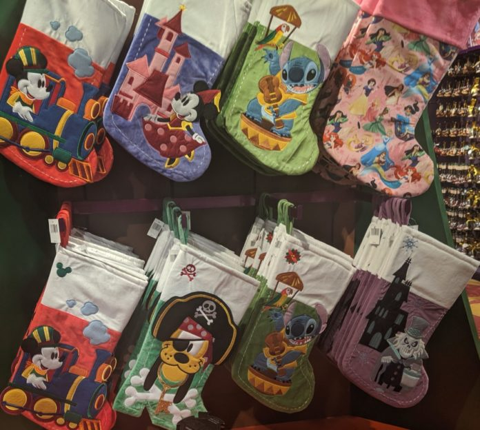 Best Disney Christmas stockings themed to popular characters, movies & theme park rides