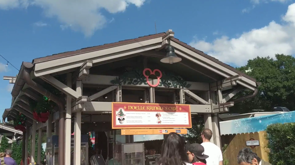 Noelle Kringle Cafe & Egg-noggery are places to find holiday treats & drinks at Disney Springs