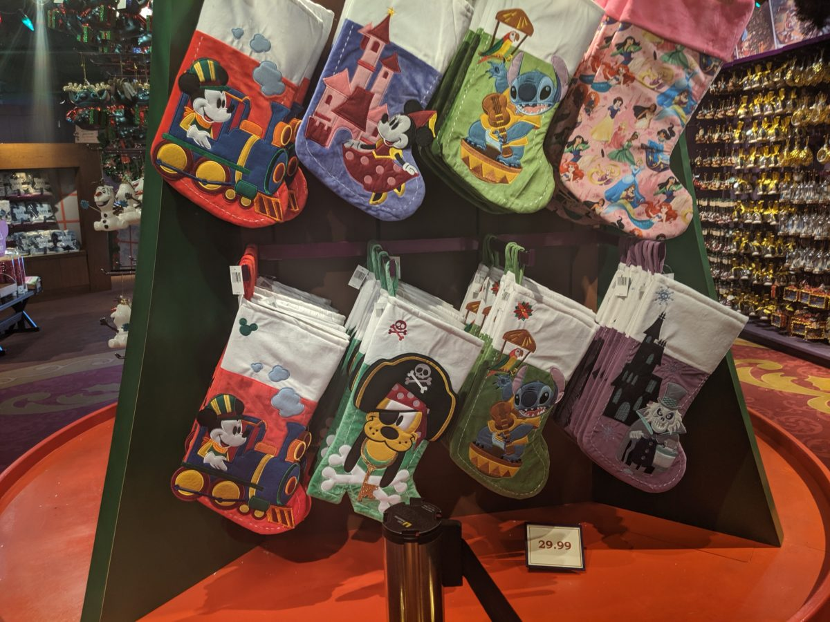 Disney's Days of Christmas is a great Disney themed holiday store at Disney Springs in Orlando, Florida