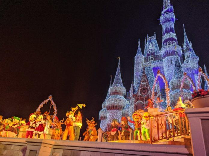 Video tour of Mickey's Very Merry Christmas Party at Walt Disney World Resort in Orlando, Florida
