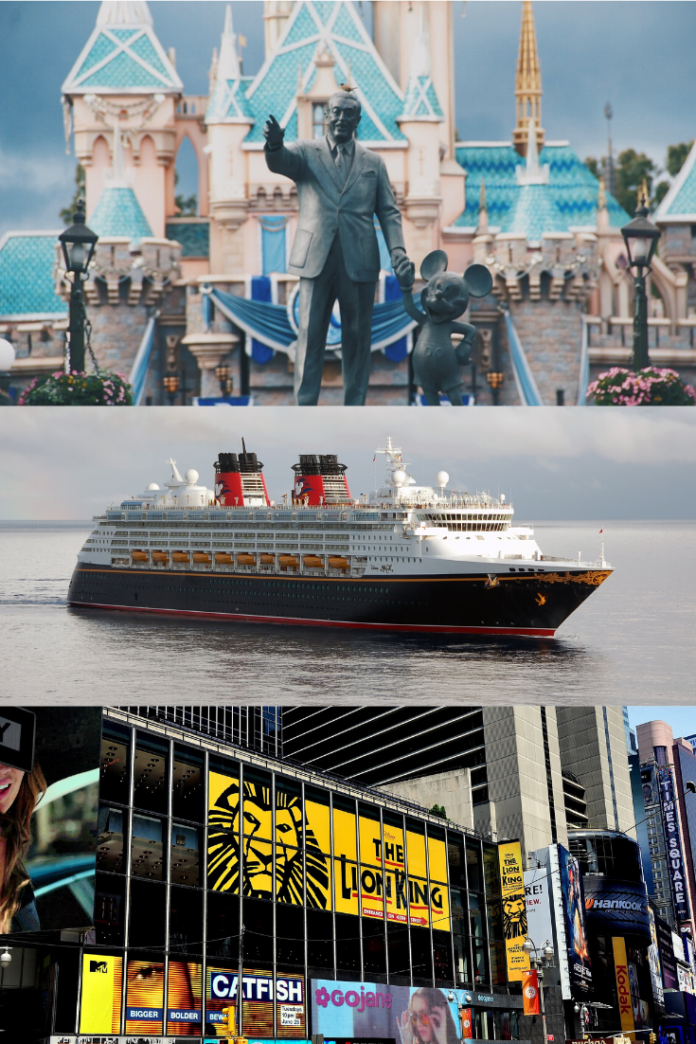 Win A Trip To Disneyland OR A Disney Cruise OR See Lion King In New York City