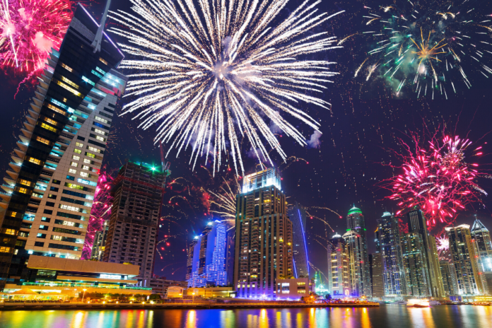Best ways to spend New Year's Eve in Dubai, united Arab Emirates