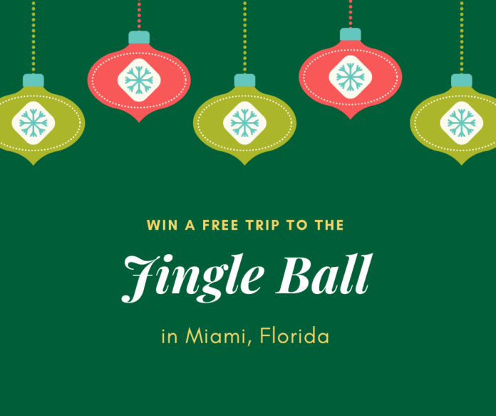 Enter iHeartRadio - Macy's iHeartRadio Jingle Ball 2019 Sweepstakes for a free trip to Miami