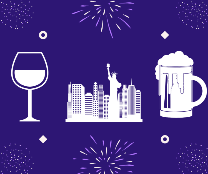 Enjoy a New Years Eve VIP Drinking & History Tour in New York City