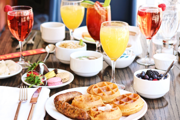 Bring in the new year on a cruise on this San Diego New Year's Day Brunch event