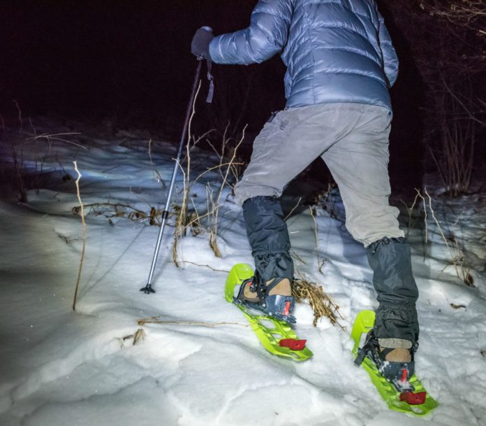 Coupon for snowshoeing at night at Mount Hood from Portland, Oregon