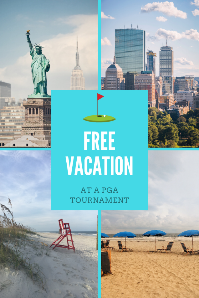 Win a free vacation at a PGA Tournament location