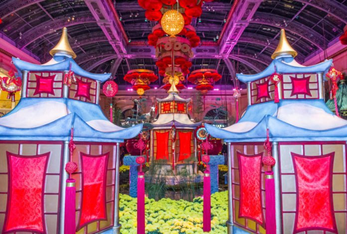 Find out what the Chinese New Year Celebration at Bellagio Hotel & Casino in Las Vegas is like & how to book the hotel for the lowest available rate