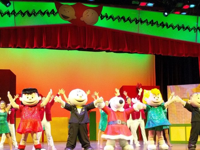 Why my family loves Charlie Brown's Christmas Spectacular at Carowinds in Charlotte, NC