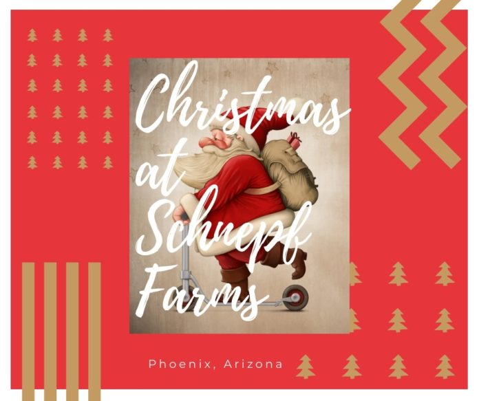Find out how to save money with a discount ticket to Schenpf Farms Christmas event in Phoenix area
