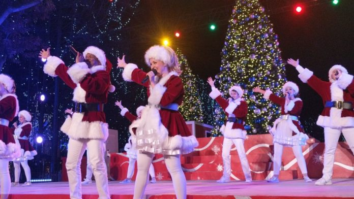 Video of Cool Yule Christmas Show performance from 2019 Winterfest at Kings Dominion theme park