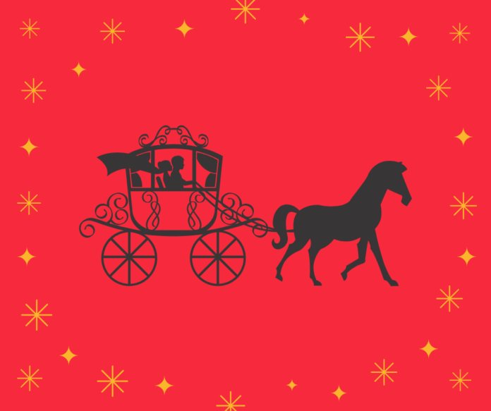 Discount code for one hour horse and carriage ride in Highland Park in Dallas during the holiday season