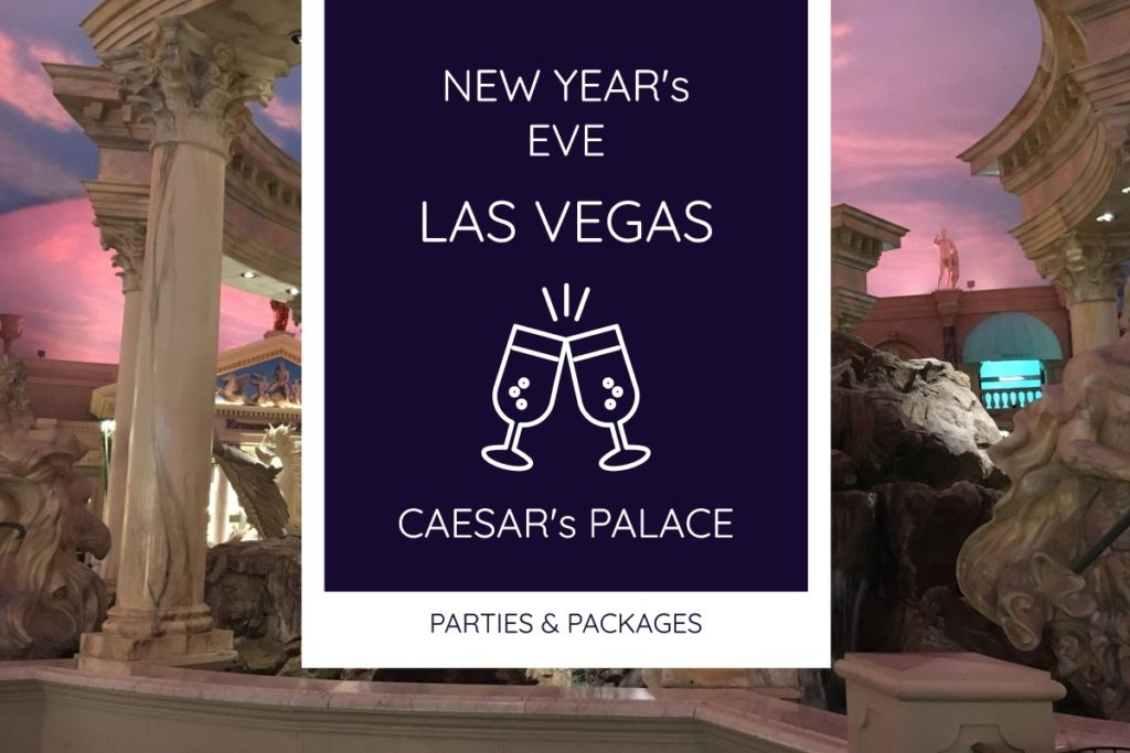 New Year's Eve At Caesar's Palace Las Vegas   Green ...