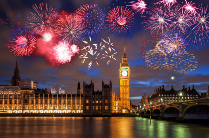 Enjoy New Year's Eve fireworks in London from an amazing view by booking this event at the Shard