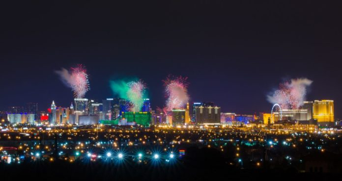 Enjoy a Las Vegas New Year's Eve Tour From San Diego, California
