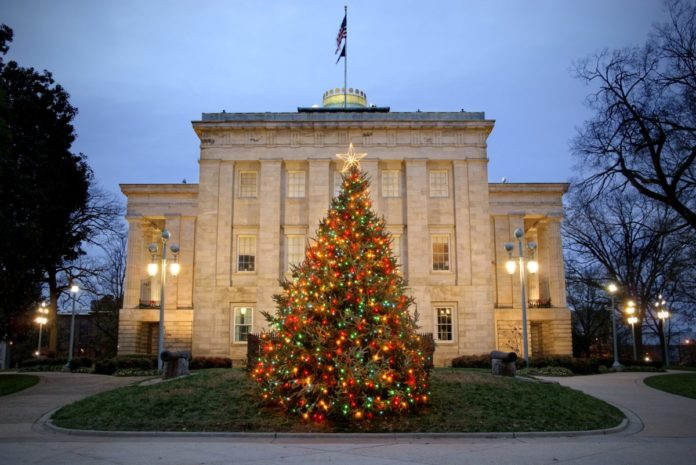 Get a coupon for Oak City Holiday Sights & History Trolley Tour in Downtown Raleigh NC