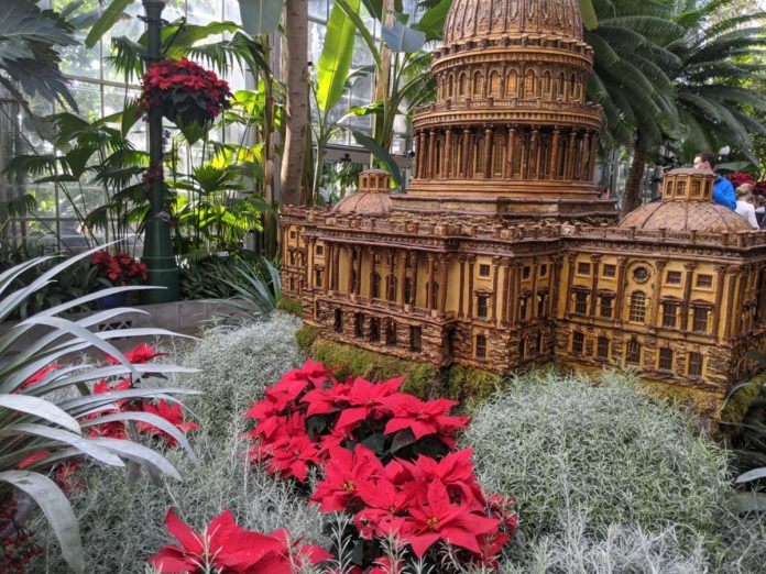 See Season Greetings at US Botanic Garden in Washington DC. Find out the best way to get there