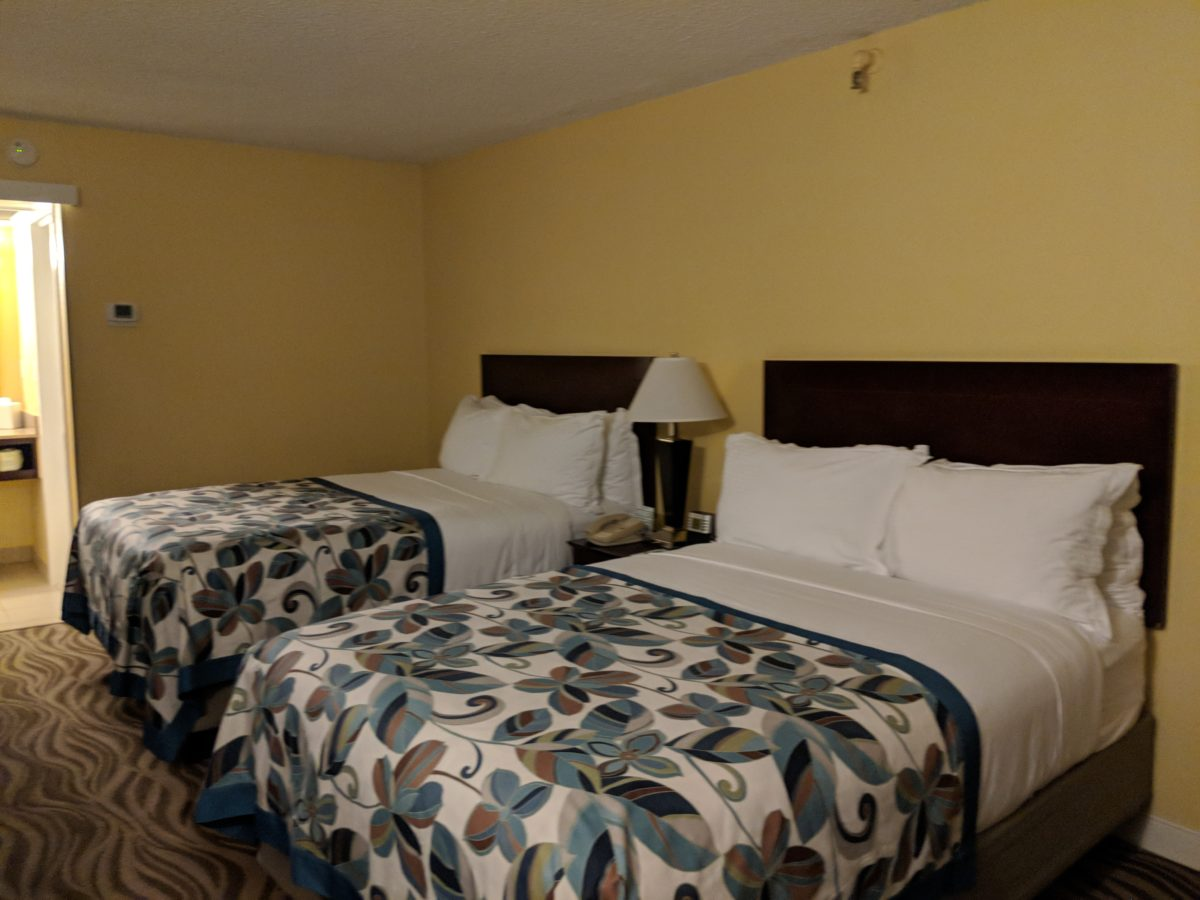 Wyndham Garden Lake Buena Vista Disney Springs hotel has guest rooms with double beds